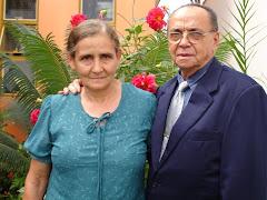 Pr José Ferreira Neto e esposa irmã Zelani.