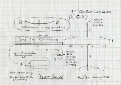 Little Balsa Glider With A Good Yield Joy Studio Design