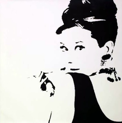 Audrey - Ikea 20 x 20 canvas $70