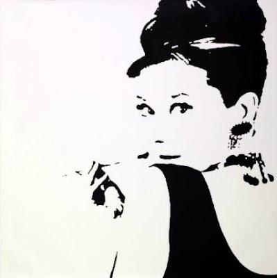 Audrey - Ikea 20 x 20 canvas $70