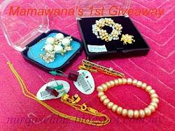 Mamawana's 1st Giveaway