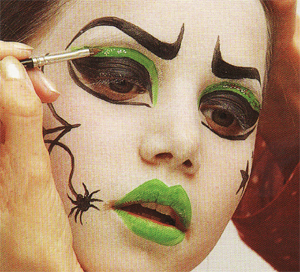 Avec pitchoun maquillage pour halloween m chante - Maquillage halloween citrouille ...