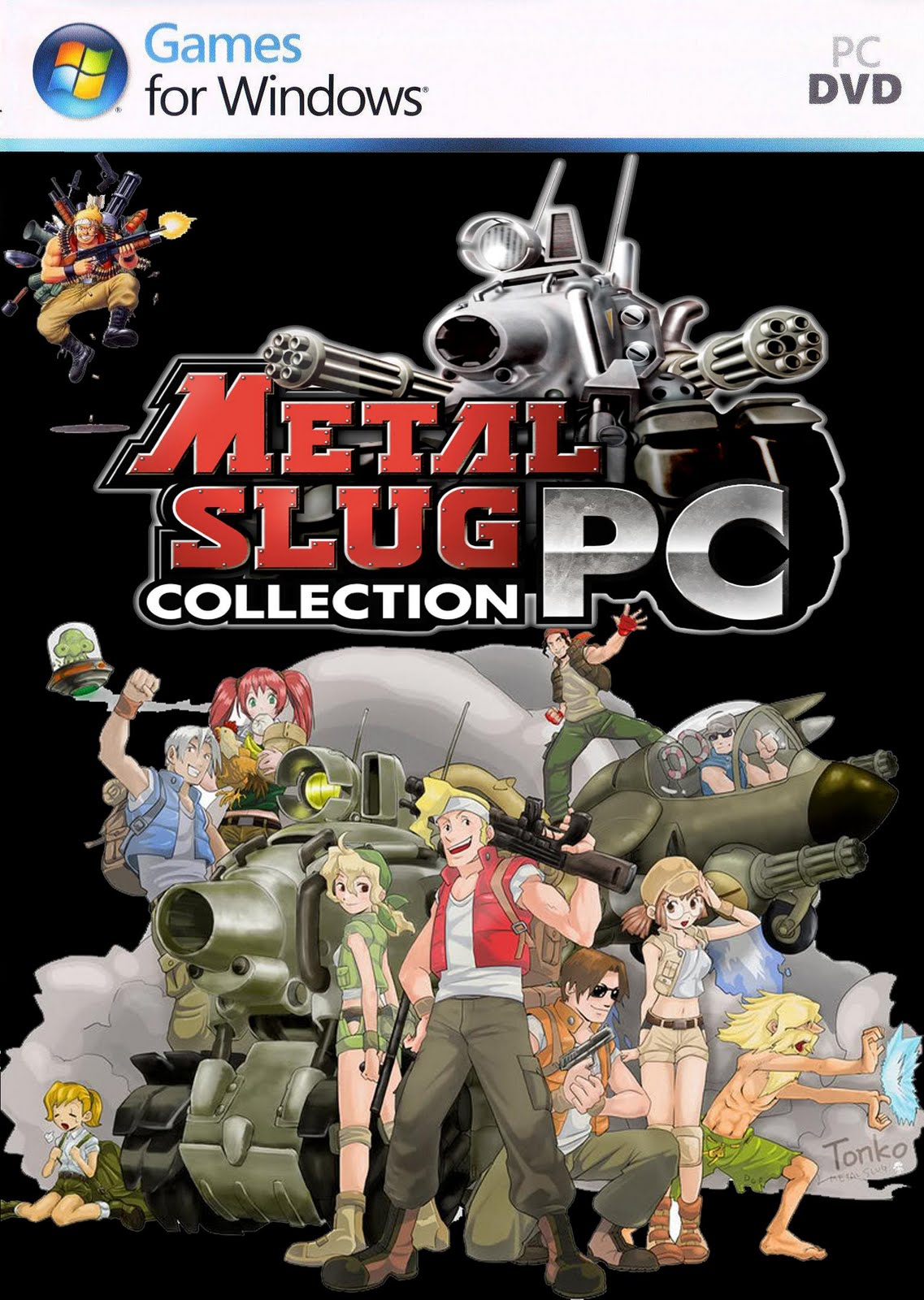 Metal Slug Series Collection [1, 2, 3, 4, 5 y X] [Full] [1 Link] [PC]