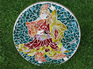 "Mosaic Stepping Stone - ""Tammy"""