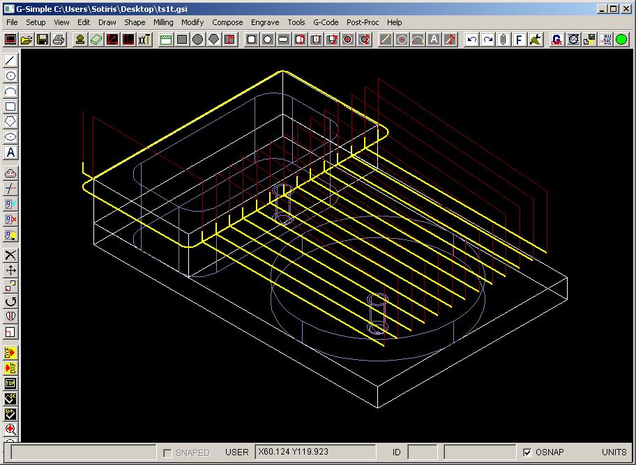 Crazy in progress Web cad software