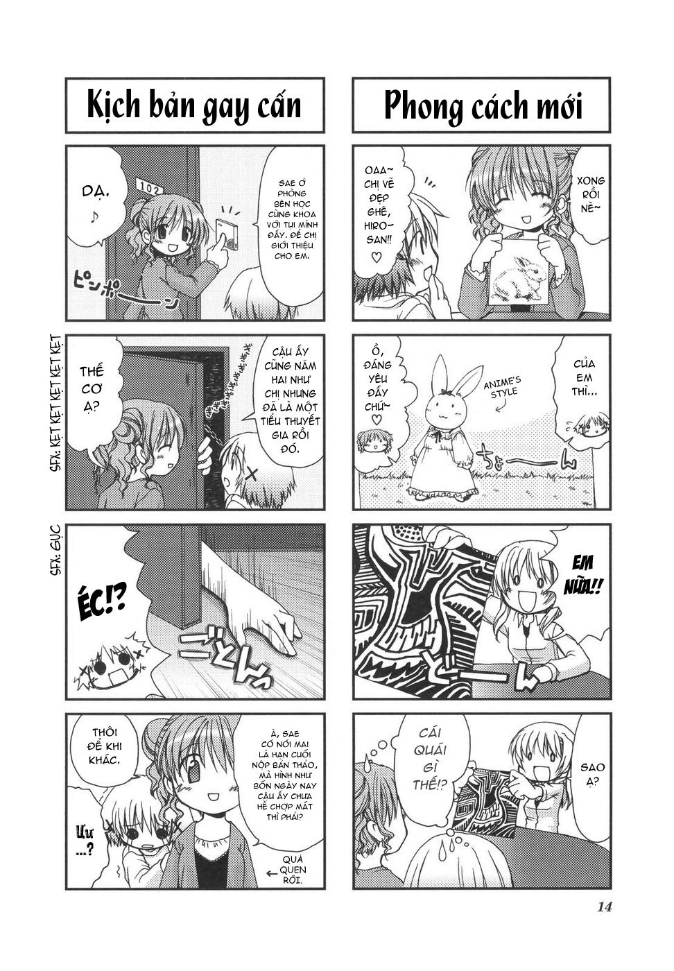 Hidamari Sketch: Chapter 1
