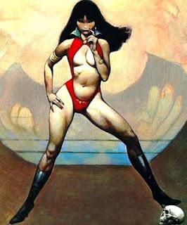 Vampirella by Frank Frazetta