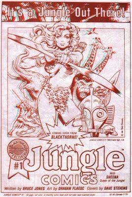 ad for Jungle Comics from BraveStarr in 3-D #2