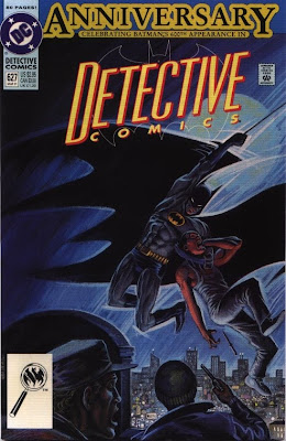 cover of Detective Comics #627 from DC Comics