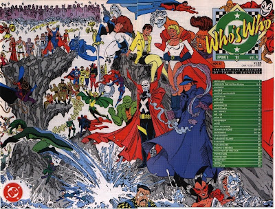 wraparound cover of Who's Who Update '87 #4 from DC Comics