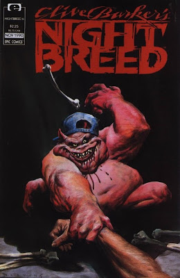 cover of Clive Barker's Nightbreed #6 from Epic Comics