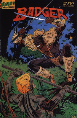 cover of The Badger from First Comics