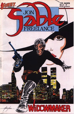 cover of Jon Sable Freelance from First Comics