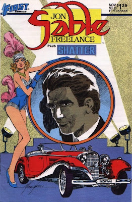 cover of Jon Sable Freelance #30 from First Comics