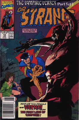 cover of Doctor Strange, Sorcerer Supreme #18 from Marvel Comics
