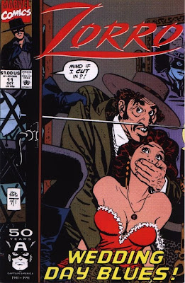 cover of Zorro #11 from Marvel Comics