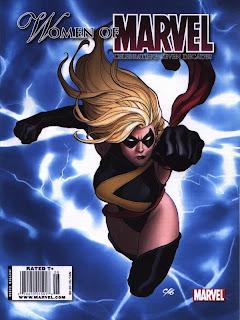 cover for Women of Marvel magazine from Marvel Comics