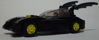 side view of McDonald's Lego Batmobile