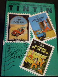 Front of The Adventures of Tintin Volume 5