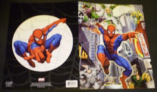 Spider-Man 2009 portfolio #4 with Green Goblin, Vulture, Doc Octopus, Electro, Rhino and Sandman chasing Spidey