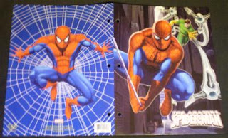 Spider-Man 2009 portfolio #2 with Doc Octopus behind Spidey