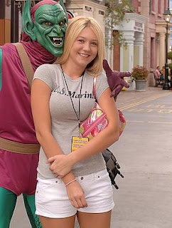 Alison Angel with Green Goblin