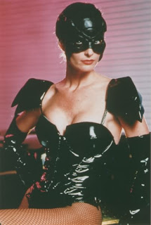 Joan Severance as the first Black Scorpion