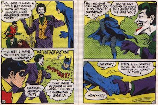 Batman in The Joker's Last Laugh mini comic pages 10 and 11