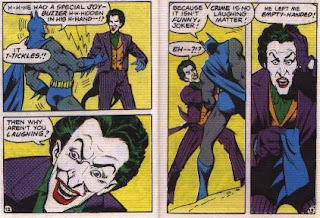 Batman in The Joker's Last Laugh mini comic pages 12 and 13