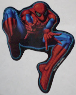 Marvel Hero Sticker Series 2 #1 Spider-Man