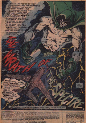 The Wrath of the Spectre from Adventure Comics #431