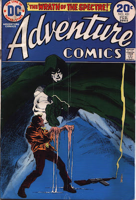 cover from Adventured Comics #431 by Jim Aparo