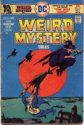 cover from Weird Mystery Tales #23