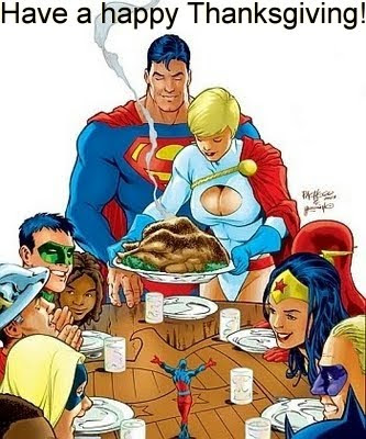 Happy Thanksgiving from JSA #54