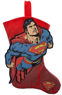Superman Christmas stocking #2