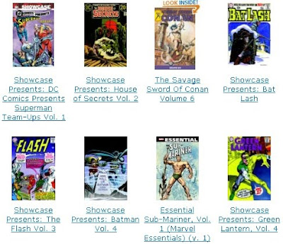 Amazon recommended comic books