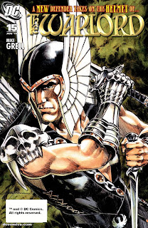 cover of The Warlord #15 by Mike Grell