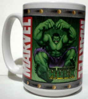 Hulk on Marvel Mug 2003