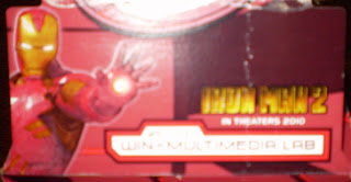 side flap from Dr Pepper Iron Man 2 box