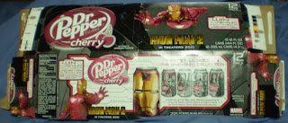 Dr Pepper Cherry Iron Man 2 box #2