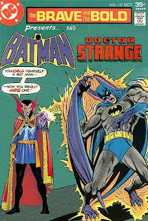 Cover of The Brave and the Bold: The Lost Issues #137 featuring Batman and Doctor Strange