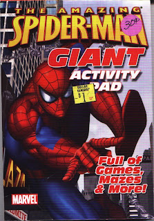 Front cover of Amazing Spider-Man Giant Activity Pad