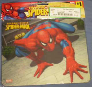 Spider-Man Spider Sense mouse pad from 2009