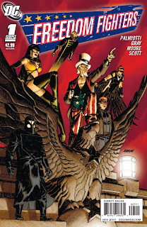 Cover of Freedom Fighters #1 from DC Comics