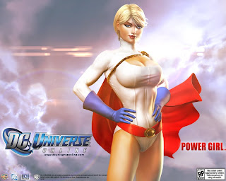 Power Girl from DC Universe Online