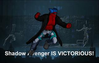 Part four of Shadow Avenger vs Xena in Superhero City