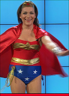 Lorraine Kelly as Wonder Woman