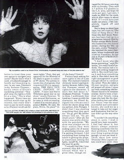 Elvira feature from Femme Fatales vol 4 #4 page 5