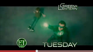 Green Lantern movie sneak peak from Entertainment Tonight!