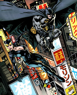 Batman and Catwoman from Batman, Inc. #1